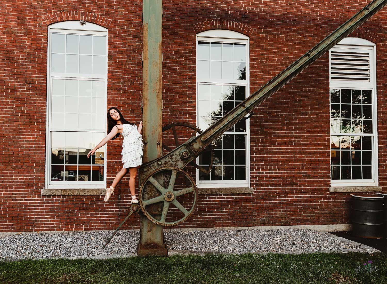 Manchestery NH Millyard Ballet Dancer Photos
