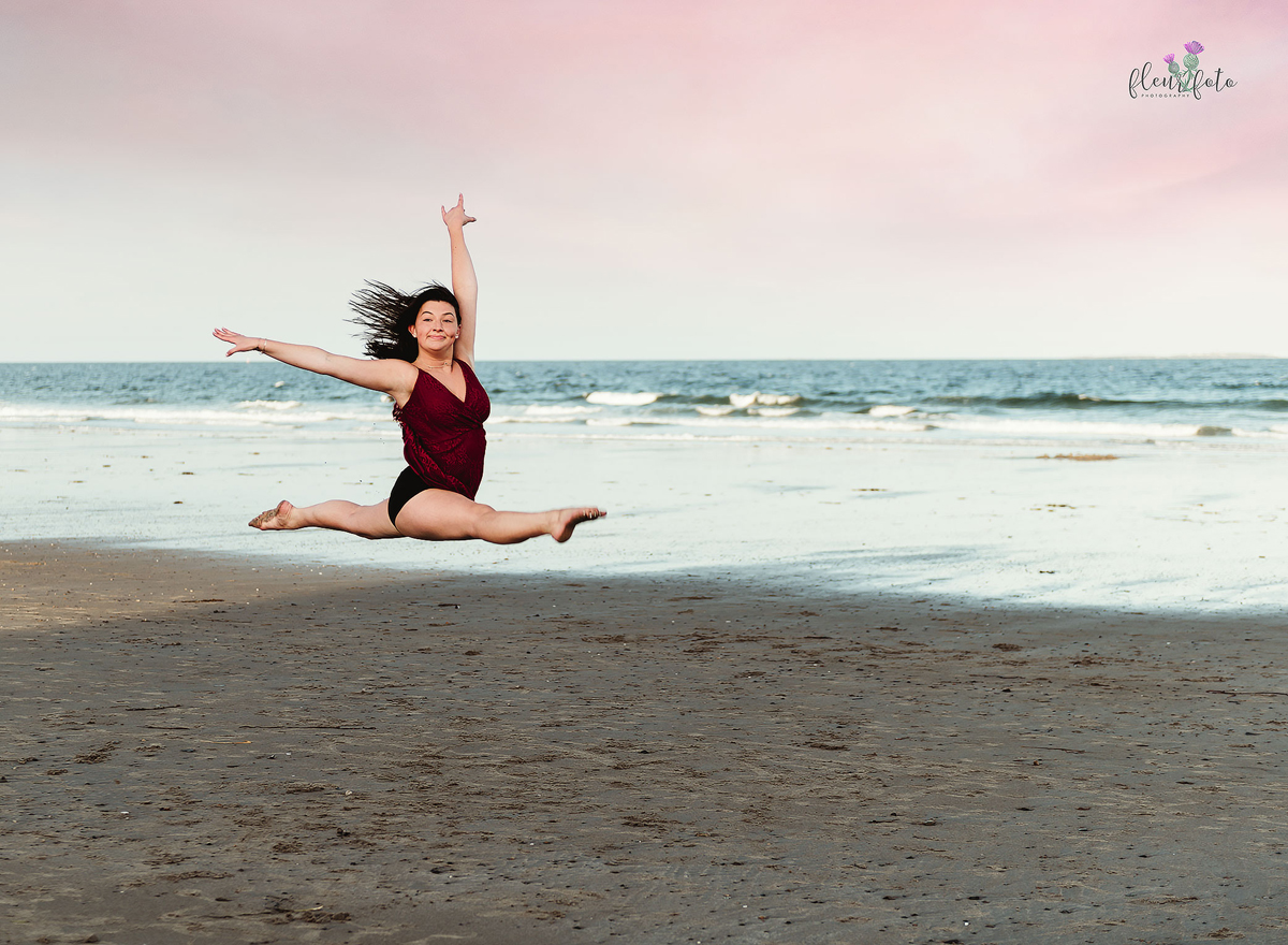 Beach Dance Portraits